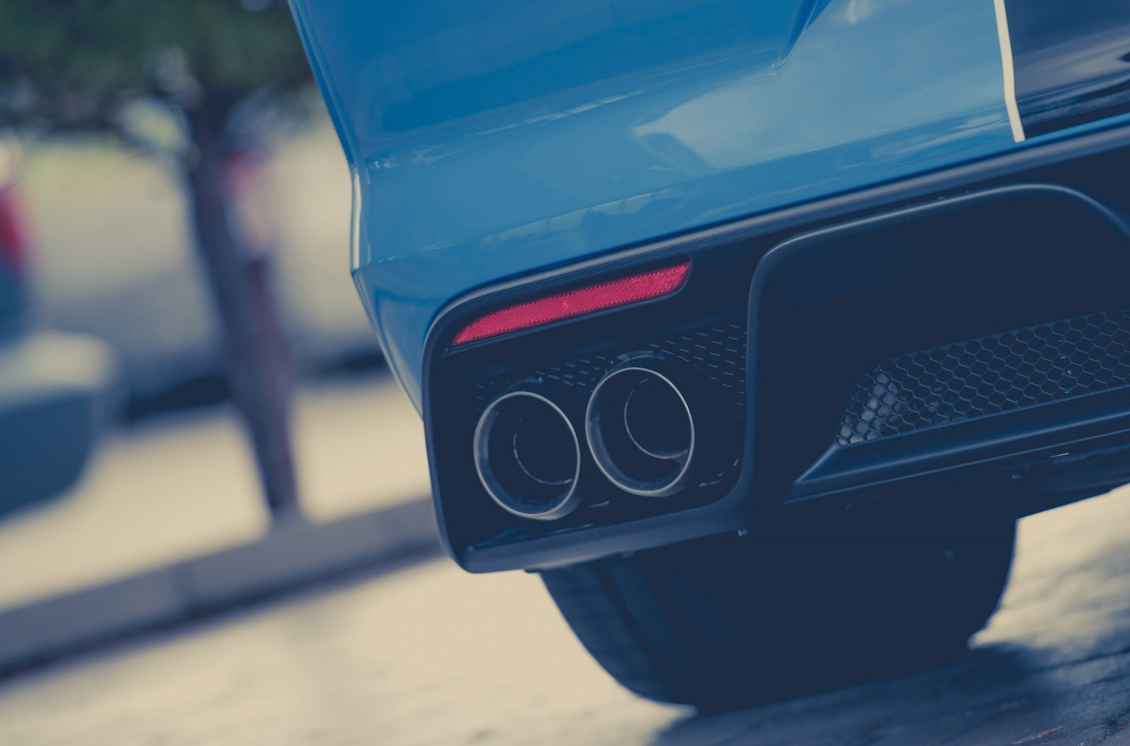 Modern Car Exhaust System